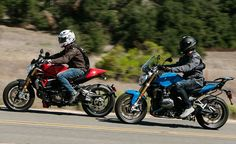 Kulture Klash: BMW R1200R vs. Ducati Monster 1200S