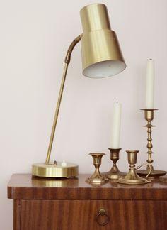 Malva / brass accessories #interiors #decor