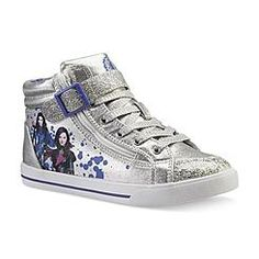 descendants high tops - Lenessa's new shoes she picked out...she loves them