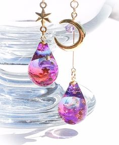 Beautiful Resins Earrings. ❤