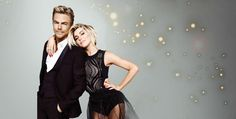 Derek and Julianne Hough on Move Live