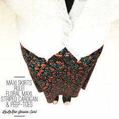 #LuLaRoeJessicaEarl #LuLaRoeMaxi #PatternMixingPro #Floral #JoinMyTeam