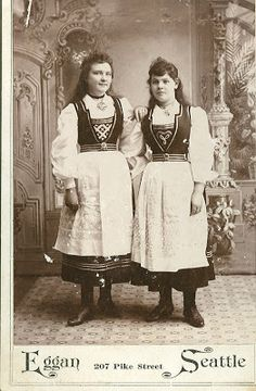 Beware of the Rug: Hardanger embroidery, Norwegian national costumes
