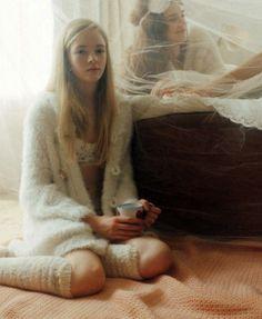 """Gelato Pique,"" by Osamu Yokonami For Elle Japan December 2013"