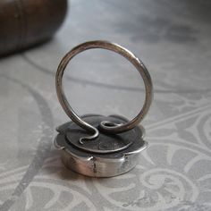 Beautiful!!! ring, detail by Quench Metalworks, via Flickr