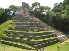 The Other Mexico: Mayan Ruins at Palenque.