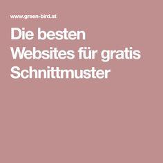 Die besten Websites für gratis Schnittmuster