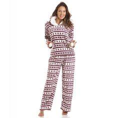 Hunkem ller femme peignoir fleece penguin 111268 v tements et accessoires for Pyjama femme chaud