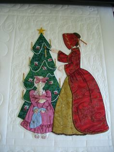 """- Quilt Pictures, Patterns & Inspiration... - APQS Forums.    (Bonnet Girls Patterns of the Past Pattern Book Applique by Helen R Scott). """"Isabella"""""""