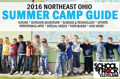 2016 Northeast Ohio Summer Camp Guide - Details on 300+ Camps happening this summer across Northeast Ohio #NEOFamilyFun