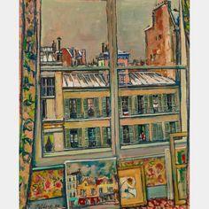 """""""Llewelyn Petley-Jones - View from my studio"""" Inuit Art, Art Auction, Online Art, Art Decor, Contemporary, Studio, Painting, Room, Bedroom"""
