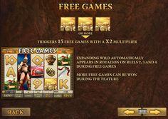 Бонусные игры на игровом автомате 300 Спратанцев
