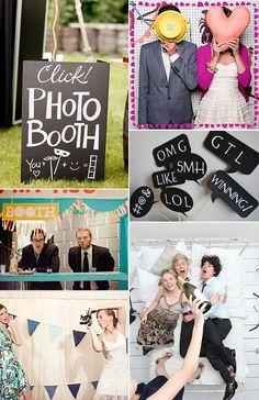 un photobooth en tu boda una idea sper divertida y un recuerdo precioso que tendris