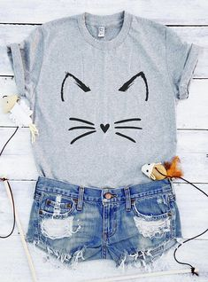 Cute cat shirt funny cat shirts cat graphic shirts kitty shirt Tees  T-shirts  cat tee  cat graphic tee  cat t shirts  cat graphic t shirts cat rescue  cat adoption  cat shirts for women  funny cat gift  cute cat gift  cat print shirt  gift for her  gift idea kitties shirt Movies For Girls Pictures mermaid For Guys Cats Puns Quotes Workout Design For Teachers Nerdy