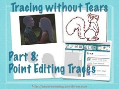 How to fix broken traces and how to manually trace silhouettes from photos. Part 8 of Tracing without Tears.