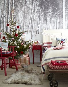 ALPINE STYLE CHRISTMAS GOODHOMES MAGAZINE DECEMBER 2012 STYLING EMMA CLAYTON PHOTOGRAPHY MARK SCOTT