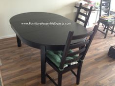 Ikea Dining Table And Chairs Assembled In Crofton Md By Furniture Assembly  Experts LLC