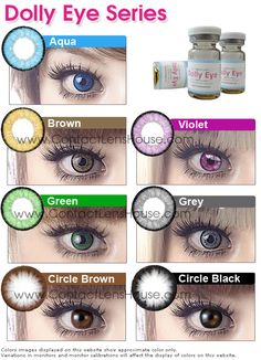 Dueba Dolly Eye contact lens at special pricing Dolly Eye Se. - Dueba Dolly Eye contact lens at special pricing Dolly Eye Se…, - Purple Contacts, Green Contacts Lenses, Best Colored Contacts, Prescription Colored Contacts, Color Contacts, Colored Eye Contact Lenses, Black Contact Lenses, Cosmetic Contact Lenses, Eye Color Chart