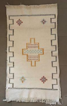 Amazon.de: Teppich Berber aus Seide von Tzabar und Baumwolle Wandbehang Ethnic östlichen Afrika