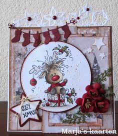 Create Christmas Cards, Simple Christmas Cards, Vintage Christmas Images, Christmas Card Crafts, Homemade Christmas Cards, Xmas Cards, Homemade Cards, Handmade Christmas, Christmas Fun