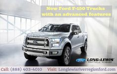 Long-Lewis of the River Region offers a perfect Ford F-150 truck, which meets the need for your business. We are proud to be Alabama's oldest, largest & most trusted automotive retailers. For more details, please call us today at (888) 403-4010 or visit our site: http://longlewisriverregionford.com