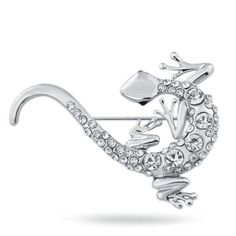 Grab 'em before they sell out! Gecko Brooch Pin on my Shopify store✨   http://scaly-apparel.myshopify.com/products/cute-gecko-rhinestone-brooch?utm_campaign=crowdfire&utm_content=crowdfire&utm_medium=social&utm_source=pinterest