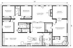 1000 images about floor plans on pinterest floor plans for 40x60 garage plans