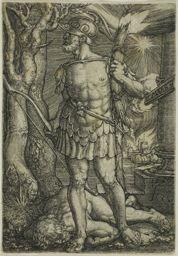 Heinrich Aldegrever German, 1502-c.1560, Mars