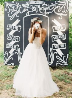 10 Ways To Use Instax Cameras At Your Wedding - Rustic Wedding Chic