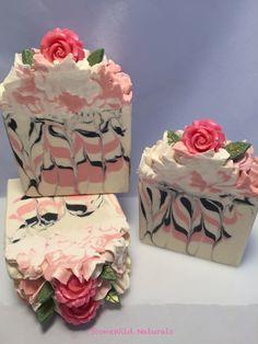 Wonderful rose cold processed soap. www.etsy.com/shop/StoneWildNaturals www.facebook.com/StoneWildNaturals