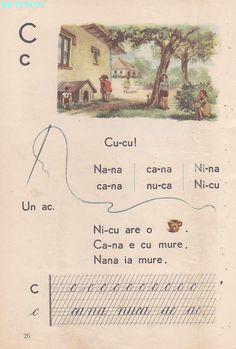 Romanian Language, Vintage School, Kids Education, Book Illustration, Kids And Parenting, Vintage World Maps, Nostalgia, Activities, Learning