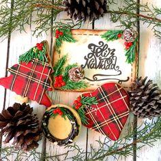 Tutorial de cómo hacer estas Galletas de Navidad