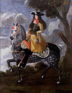 Ritratto equestre di Carlo IV Borromeo (1657-1734) - Galleria, Rocca di Angera (VA).