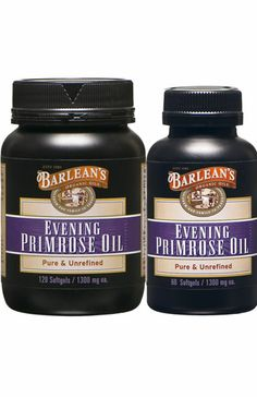 Barlean's Evening Primrose Oil Softgels in 60ct and 120ct