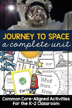 Are you looking for fun lessons about the solar system for your kindergarten, first grade, or second grade students? This packet is full of ready-to-go lesson plans to make a study of space come to life for your students!
