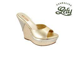 Modelo 1503, color moctezuma/oro, plataforma pam