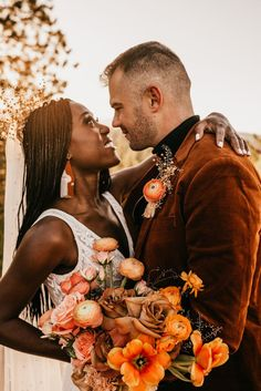 Orange fall elopement inspiration | Image by Maggie Grace Photography Cabin Wedding, Fall Wedding, Dream Wedding, Wedding Ideas, Festival Themed Wedding, Orange Color Palettes, Romantic Wedding Hair, Crown Hairstyles, Elopement Inspiration