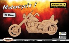 Puzzled - 3D Jigsaw Puzzle 96 pc-Motorcycle