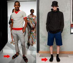 Trending at Fashion Week: Birkenstocks