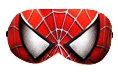 Spider Man Sleep Eye Mask Masks Sleeping Night Blindfold Travel Eyes cover covers patch Cloth sleeping eyes Slumber Eyewear wear Accessory by venderstore on Etsy