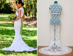 hæklet brudekjole - Google-søgning