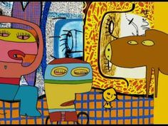 Proyecto de arte para Nivel Inicial basado en las obras de MIlo Lockett Giuseppe Arcimboldo, Bart Simpson, Fictional Characters, Youtube, Kid Art, Art Projects, Art Kids, How To Paint, Marker Drawings