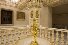 – BAPS Shri Swaminarayan Mandir, London Lord Krishna Images, Jay, Ceiling Lights, London, Wallpaper, Home Decor, Decoration Home, Room Decor, Ceiling Lamps