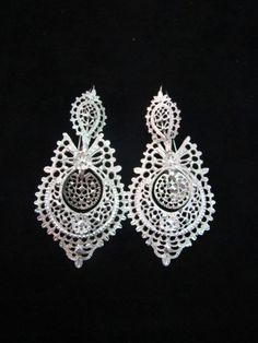 Portuguese filigrana earrings