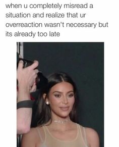 "This situation. 21 Kim Kardashian Memes That'll Make You Say, ""My God, I Am Kim"" Robert Kardashian, Kardashian Memes, Khloe Kardashian, Lol Memes, Memes Humor, Stupid Funny Memes, Funny Relatable Memes, Funny Posts, The Funny"
