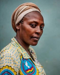 Photo and caption by @petekmuller. Congolese activist Neema Namadumu stands for a portrait near her office in #Bukavu, eastern Democratic Republic of #Congo (DRC). Neema is one of DRC's most fearless and devoted advocates for peace, women's rights and the disabled. Neema herself contracted polio at the age of two and while she requires crutches to help her walk, it in no way hinders her zeal to campaign on behalf of peace & equality. In 2012, she founded the Maman Shujaa Media Center that…