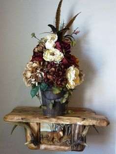 Rustic Bucket Floral Arrangement