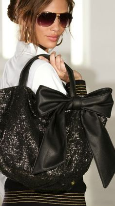Sparkling Bow Bag