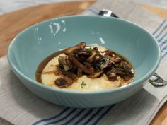 As seen on #TheKitchen: Mushroom Fricassee with Creamy Polenta