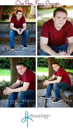 Senior pose for guys